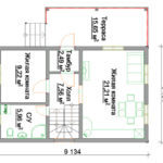 Проект дома 107 кв.м.