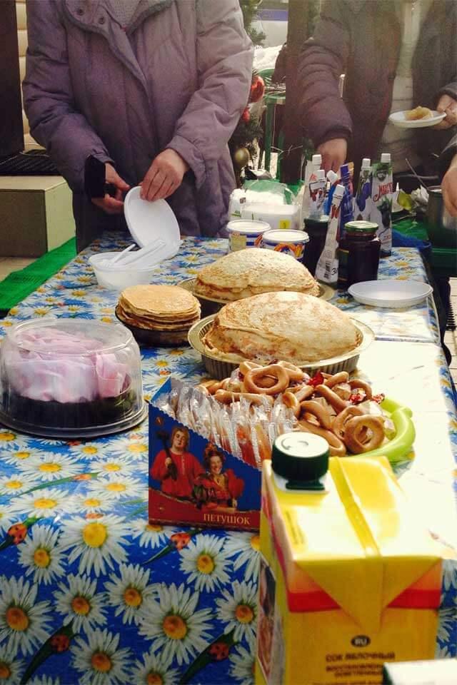 Ежегодное празднование Широкой Масленицы в наших посёлках